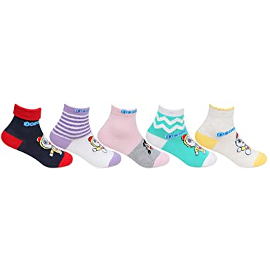 Kid s cute knitted doraemon socks  Amazon.in  Clothing   Accessories 1773dae2849