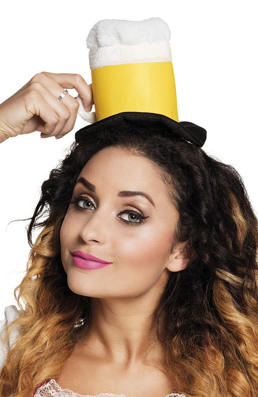 Mini Chapeau chope de bi/ère Adulte Generique