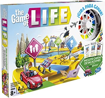 Hasbro Gaming- Hasbro Game of Life, Multicolor (C0161105 ...