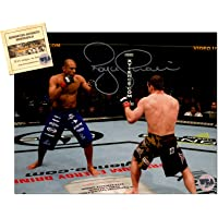 $59 » Royce Gracie Autographed/Signed 8x10 UFC MMA Photo Memorabilia Certified with WCA Dual Authentication Holograms and COA