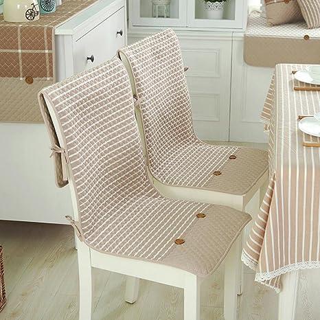 Set da 2 cuscini decorativi per sedie sottili, con seduta e ...