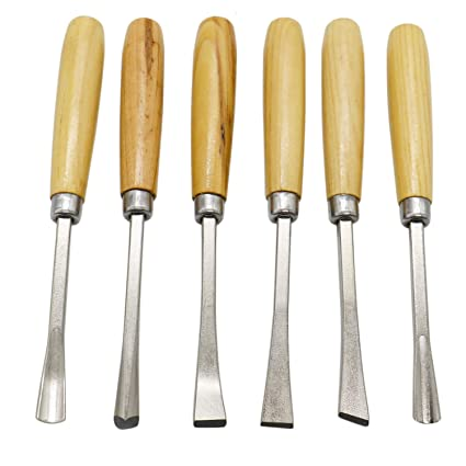 Amazon Com Topmo 6 Pcs Set Hand Wooden Wood Carving Chisel Wood