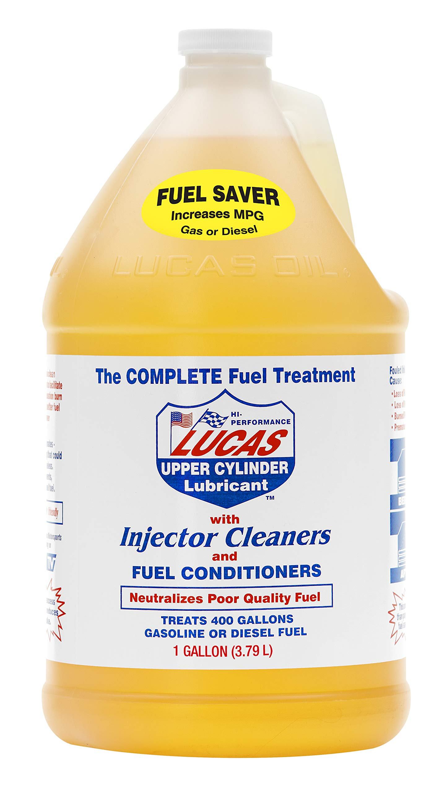 LUCAS LUC10013 10013 Fuel Treatment - 1 Gallon