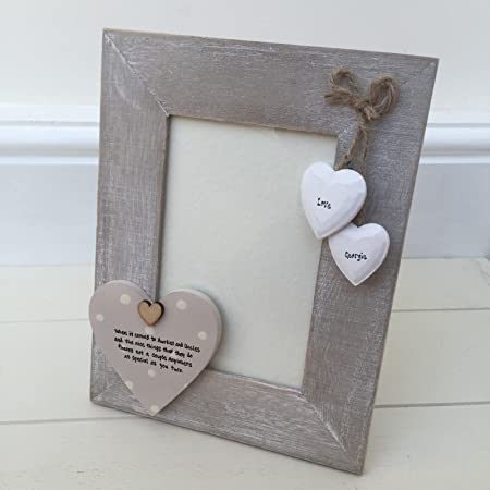 Shabby Personalised Chic Auntie and Uncle ~ Aunty ~ great Aunt Photo ...