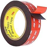 Double Sided Tape, HitLights Mounting Tape Heavy Duty, Waterproof Foam Tape, 15FT Length, 0.94 Inch Width for Car, LED Strip