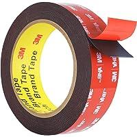 Dubbelzijdige Tape, HitLights 3M VHB Montage Tape Heavy Duty, Waterdichte Foam Tape, 16FT Lengte, 0,94 Inch Breedte voor…