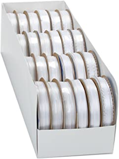 product image for Offray Assortment Spool O Ribbon, White (Pack of 24)