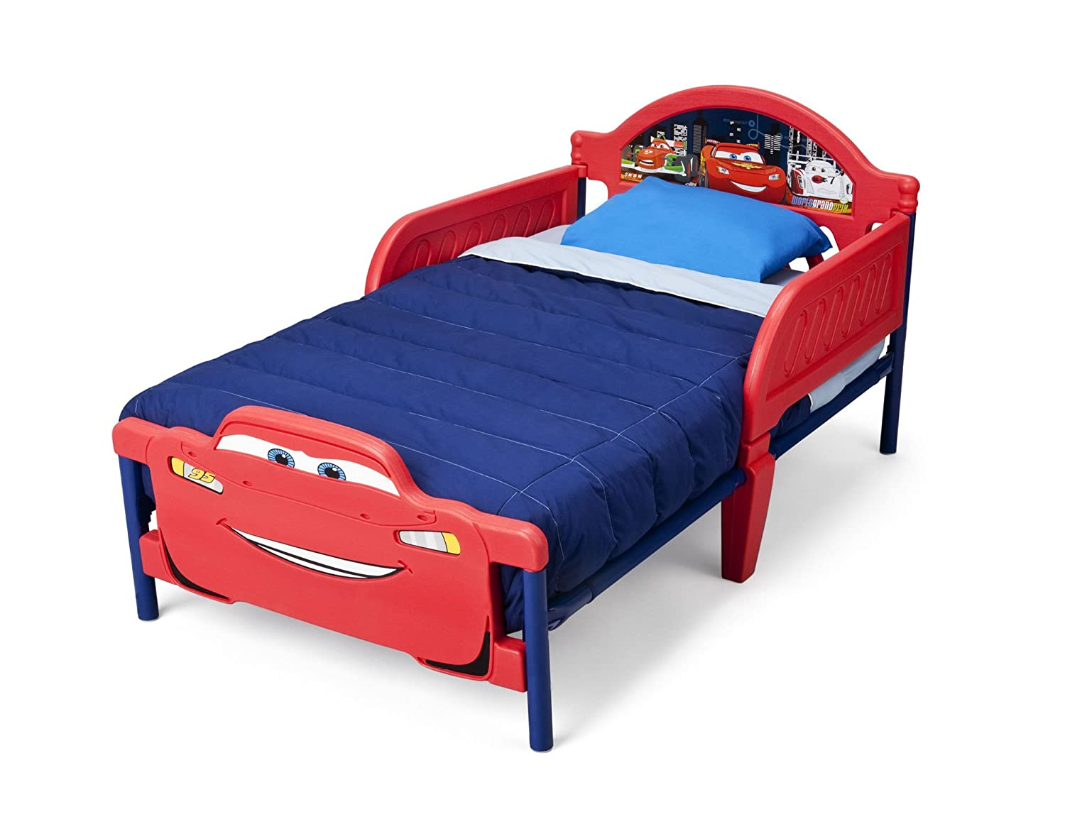 Delta Children 3D Plastic Toddler Bed Disney Pixar Cars Amazonca Baby