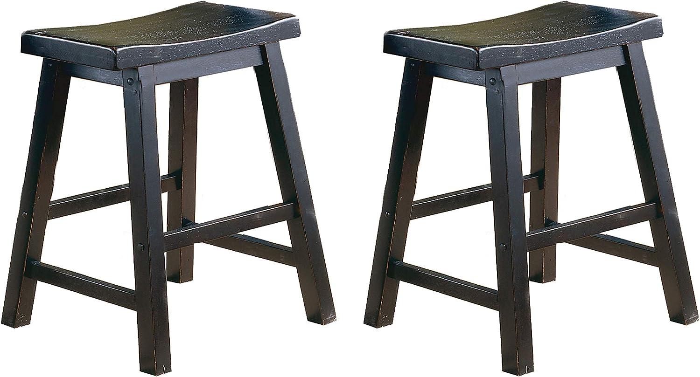 Homelegance Saddleback 18-Inch Barstool