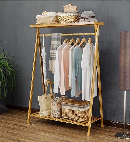 Simple Hanger Landing Coat Racks Perchas Dormitorio Percha de ropa Sala de estar Ni/ño de almacenamiento Rack Hook Free Standing Coat y Hat Rack Tama/ño : 80*45*145CM
