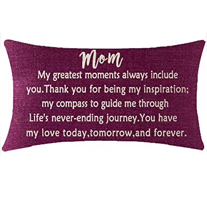 NIDITW Nice Wedding Birthday Gift To Mother Mom Mum With Inspirational Sayings My Dark