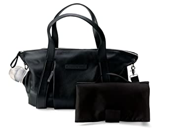657ade4036 Amazon.com   Bugaboo Storksak Leather Diaper Bag