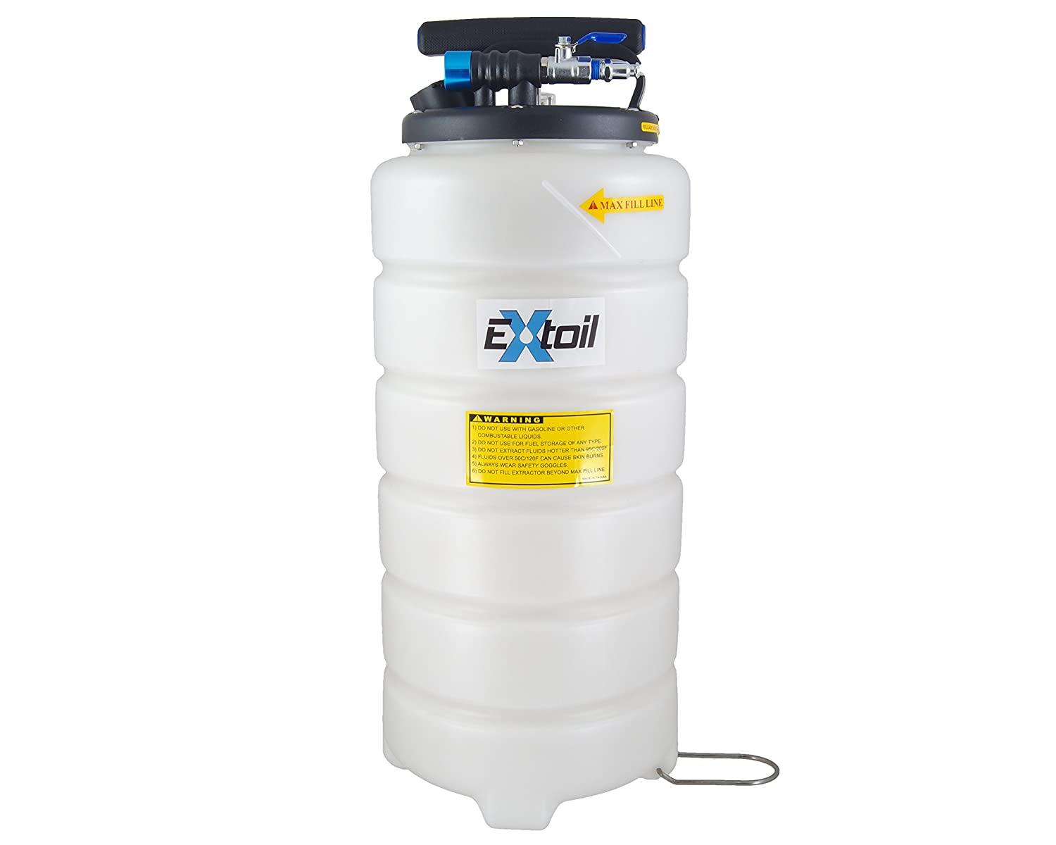 EXtoil 15 Liter Professional Pneumatic Oil Extractor EXT-15-PRO