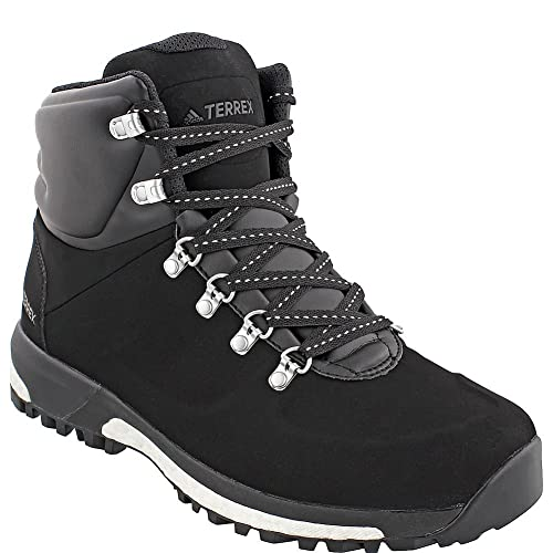 new concept 0ecf4 99a90 adidas Terrex Pathmaker CW Boot Mens Hiking 8 Black-Chalk White-Silver  Metallic