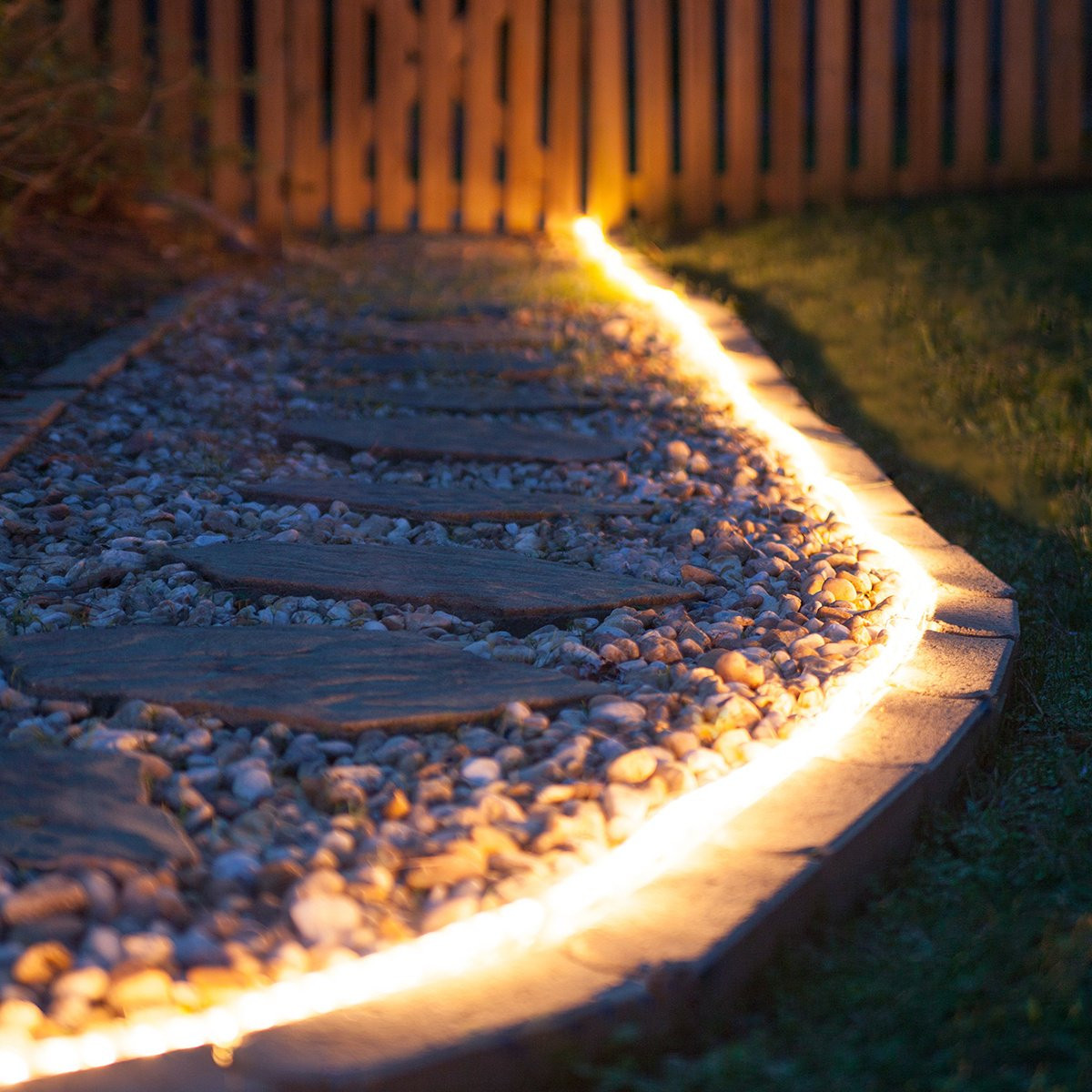 Solar rope lights outdoor decorations garden decorative light 100 solar rope lights outdoor decorations garden decorative light 100 pure white led ornaments deal of the day prime today sogrand landscape lighting waterproof workwithnaturefo