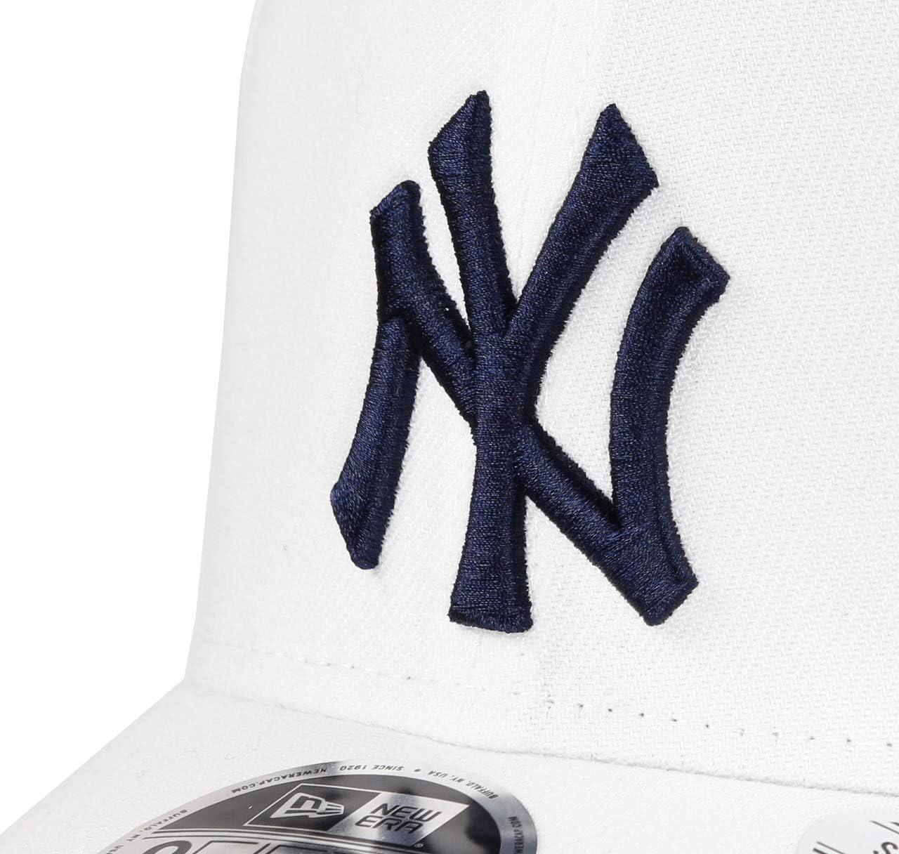 New Era White Base Stretch Snap 9 Fifty York Yankees Snapback