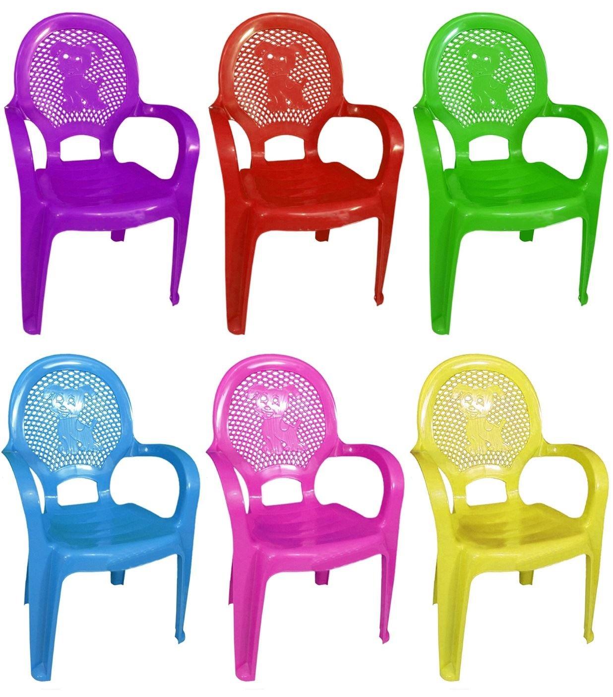 Assorted Colour Stackable Kids Children Plastic Chair Home Picnic Party Nursery Tea School 30kg Furniture Garden Clubs Seat Concept4u