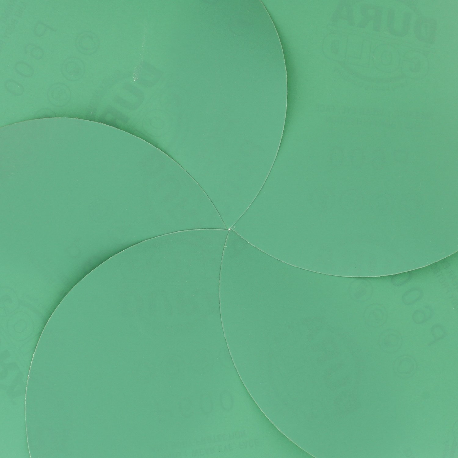 80, 120, 220, 320, 400 Premium Film Back Variety//Assortment Pack 6 Green Film PSA Self Adhesive Stickyback Sanding Discs 5 of Each grit - Box of 25 Total Sandpaper Finishing Discs Dura-Gold