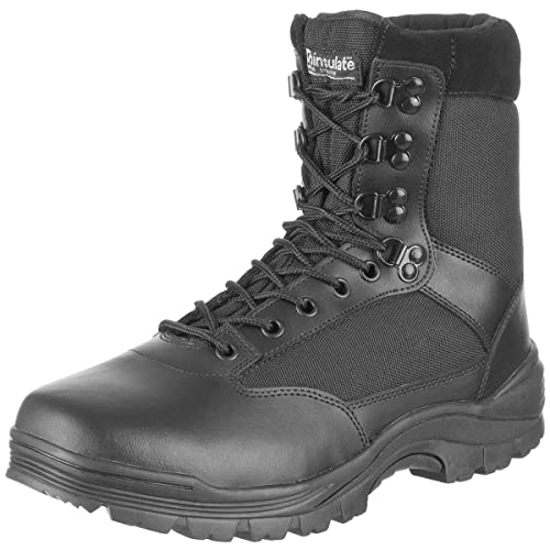 NEW  MENS COMBAT MILITARY ARMY SAFETY STEEL TOE CAP WORK BOOTS TACTICAL POLICE