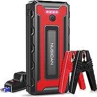 $99 » NUSICAN Car Jump Starter, 2600A 22000mAh 12V Portable Battery Starter, Auto Battery…