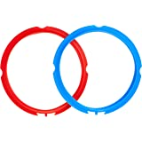 Instant Pot Genuine Silicone Sealing Ring 2 Pack, Red and Blue, 3L