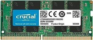 Crucial 64GB (2 x 32GB) DDR4 2666MHz SODIMM Memory Upgrade Kit CT2K32G4SFD8266 Compatible with 27 inch iMac (iMac19,1 iMac20,1 iMac20,2)