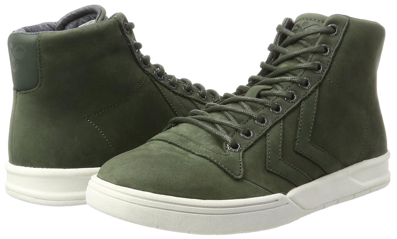 Hummel Unisex-Erwachsene Hml Stadil Winter (Rosin) High Hohe Sneaker Grün (Rosin) Winter 1a9604