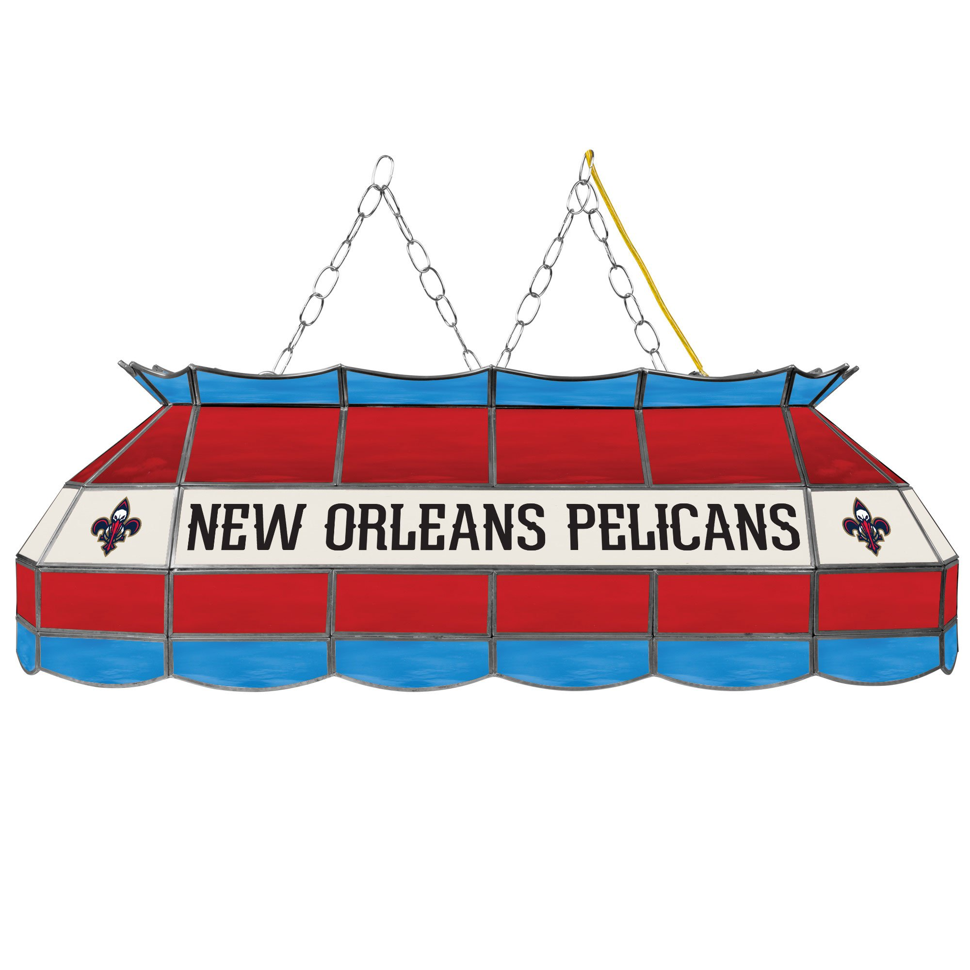 NBA New Orleans Pelicans 40-Inch Tiffany Style Lamp