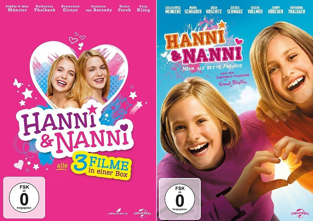 Hanni Nanni 4 Filme Set Box Film 1 3 4 Mehr Als Beste Freunde Deutsche Originalware 4 Dvds Amazon De Sophia Munster Jana Munster Heino Ferch Anja Kling Laila Meinecke