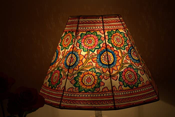 Amazon Com Floral Lamp Shade Table Lamp Floor Lamp Bedside Lamp