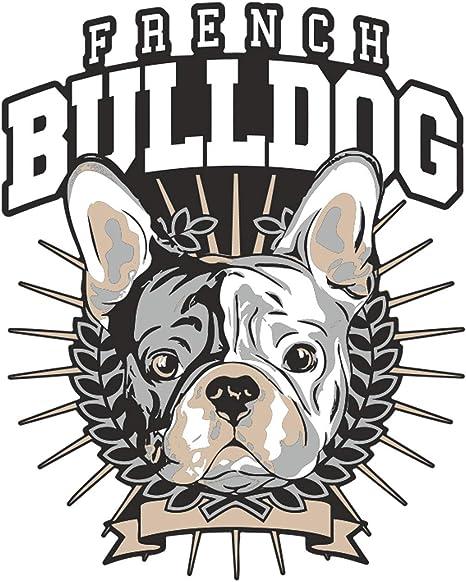 Wetterfester Aufkleber French Bulldog Boss Auto