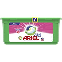Ariel All in 1 PODS, Washing Liquid Capsules With Touch of Freshness Downy, 22 Count