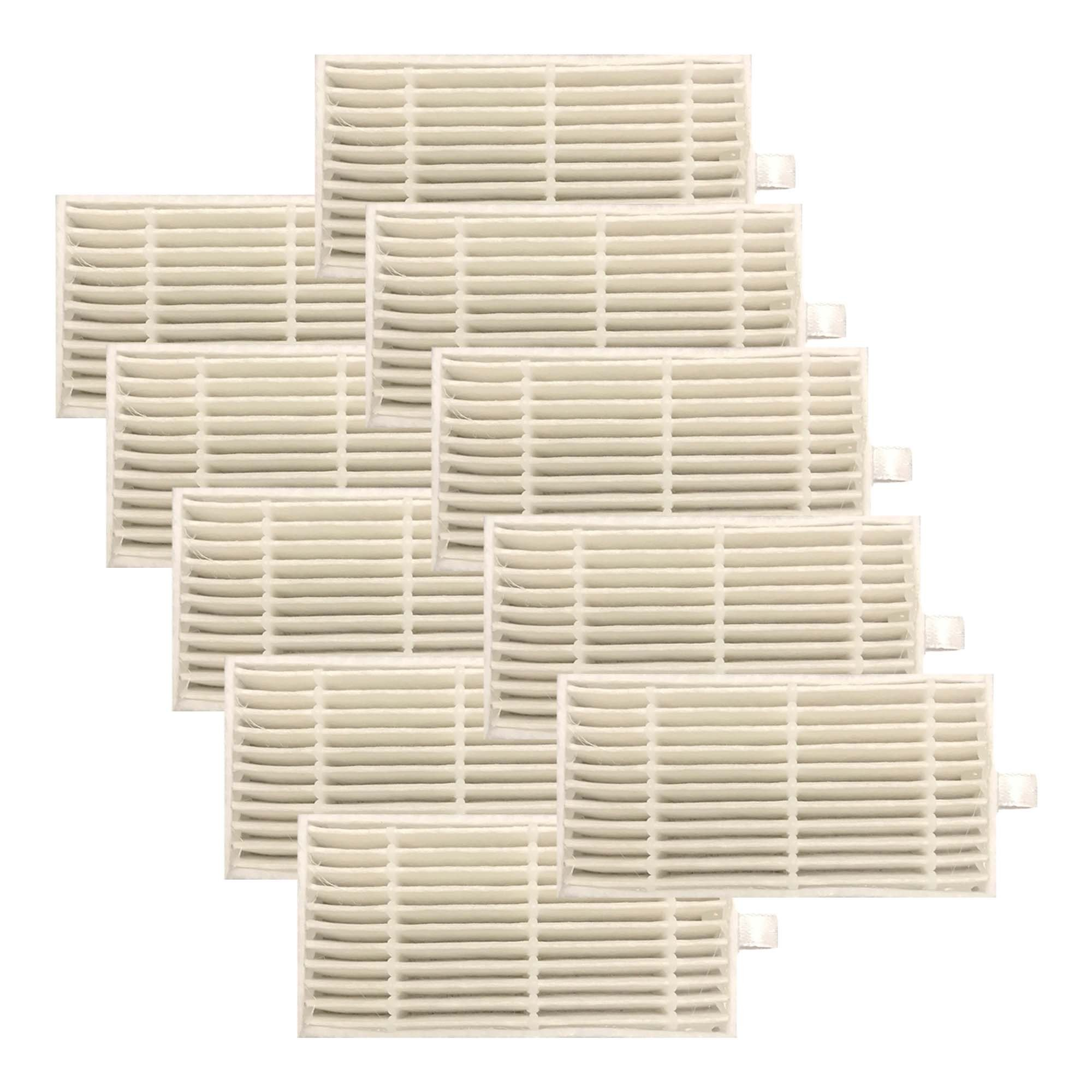 Think Crucial 10 Replacements iLife Filters, Compatible V3s, V3s Pro, V5, V5s & V5s Pro Robot Vacuum Cleaners