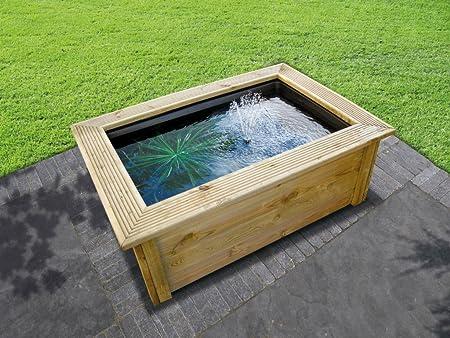Marco de madera ubbink Quadra - marco de madera decorativa para platillos Quadra C3: Amazon.es: Juguetes y juegos