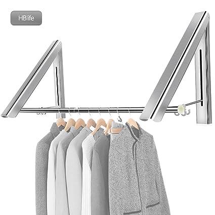 Attaccapanni A Scomparsa.Hblife Appendiabiti Pieghevole In Alluminio Attaccapanni A Scomparsa Gancio Vestiti
