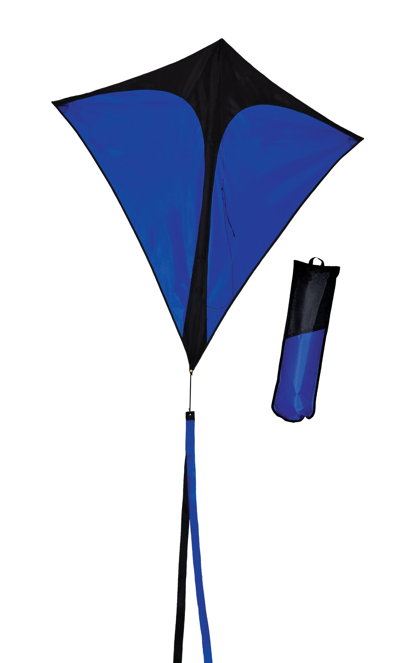In the Breeze Blue Diamond Travel Kite, 36-Inch