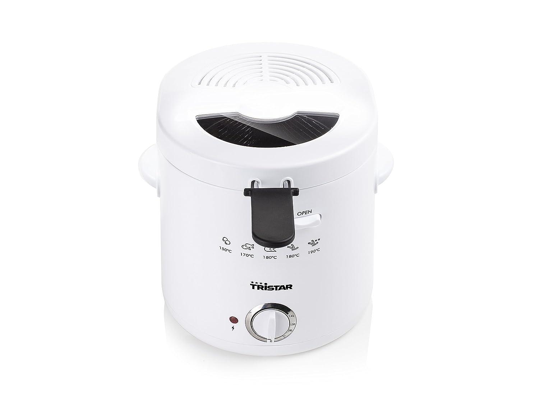 Tristar FR-6941 Freidora 1,5L con termostato, 1000 W, Blanco: Amazon.es: Hogar