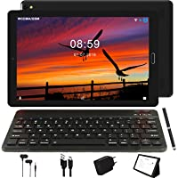 Tablet 10 Pulgadas GOODTEL 4G Android 8.0 Negro Tablets PC con 3GB RAM + 32GB ROM y 8000mAh Batería & 5.0 MP + 8.0 MP HD la Cámara , Dobles SIM y TF Card Apoyo Tablet (WI-FI,GPS Bluetooth,FM Radio)