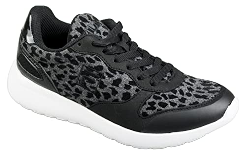 najniższa cena sklep dyskontowy tanio na sprzedaż Fila Shoes FIREBOLT F LOW WOMENS black leopard, US 6 EU 37 ...