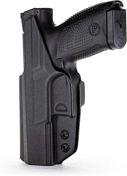 CZ P10c right handed black IWB kydex concealment holster