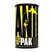 Animal Pak - The Complete All-in-one Training Pack - Multivitamins for Men, Amino Acids, Performance Complex, Zinc and More - For Elite Athletes and Bodybuilders - 44 Packs