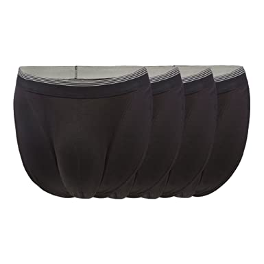 Debenhams The Collection Men Pack of Four Black Tangas M  The ... acbc0fea4