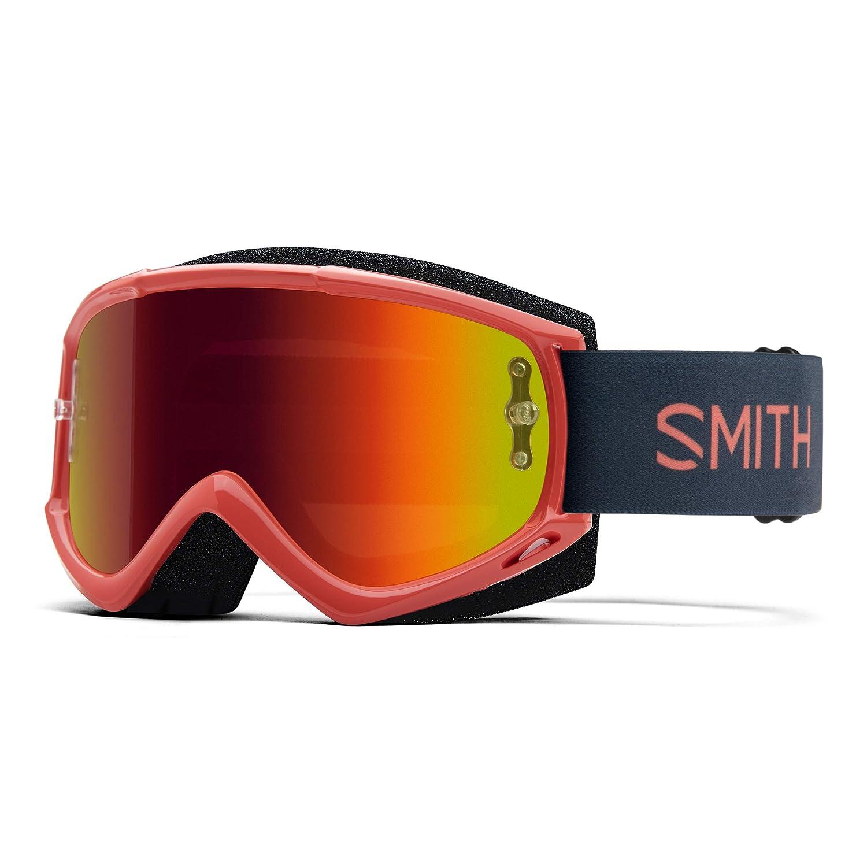 Smith Optics Fuel V.1 大人用オフロードサイクリングゴーグル - レッドロック/レッドミラー/フリーサイズ   B07GL7NKVY