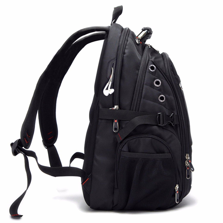 Amazon.com: Oxford Swiss Backpack USB charging 17 Inch Laptop Men Waterproof Travel Backpack Female Vintage School Bag backpack mochila,Black,17 Inches: ...