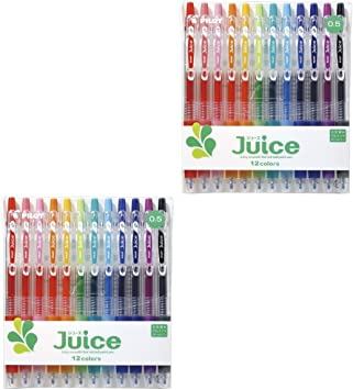 Pilot Juice 0.5mm Extra Fine Retractable Gel Ink Ballpoint Pen 36 Colors Set