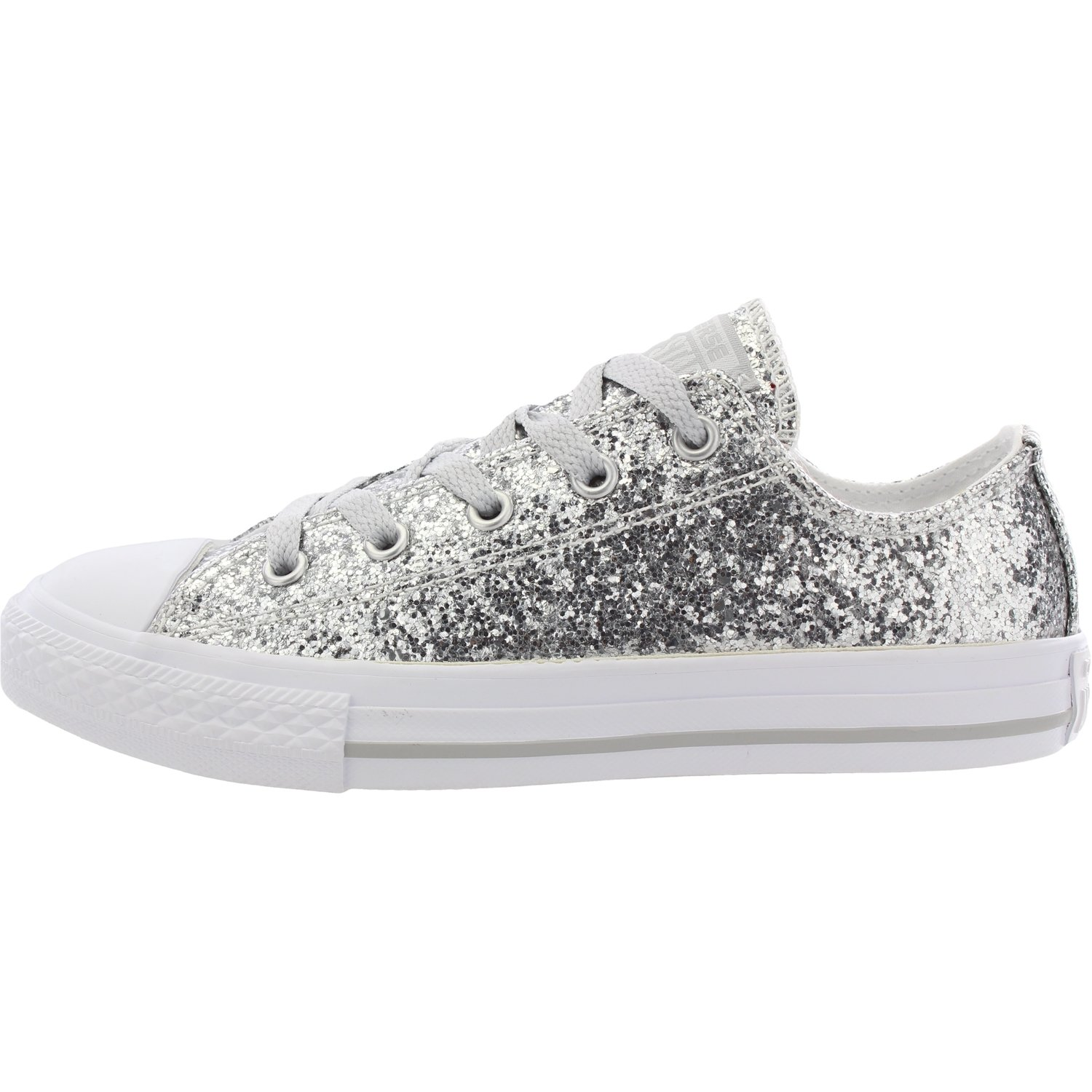 Converse Chuck Taylor All All All Star Glitter Pure Silber Synthetic 36 EU 2fe329