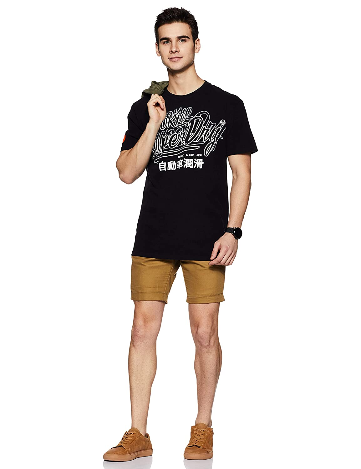Superdry Reactive Classic Box Fit Tee T-Shirt Uomo