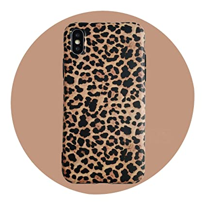 leopard print phone case for iphone xs max