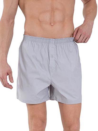 Jockey Men's Cotton Boxers (Pack of 2) (Colors May Vary) Men's Boxer Shorts at amazon