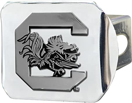 Fanmats 21047 Team Color 4-1//2 x 3-3//8 South Carolina Black Hitch Cover